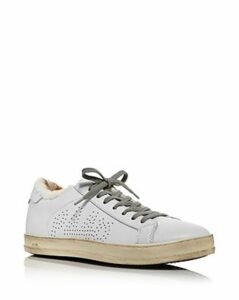 P448 Women's John Faux-Fur & Leather Low-Top Sneakers