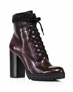 Aqua Women's Laker Stacked Heel Hiker Boots - 100% Exclusive