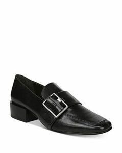 Via Spiga Women's Brilee Stacked Heel Loafers