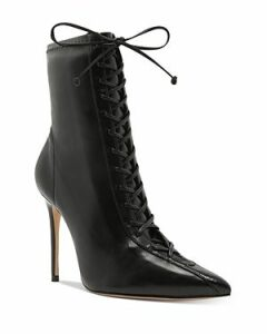Schutz Women's Tennie Lace-Up High-Heel Boots