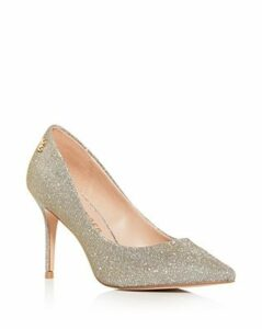 Kurt Geiger Women's Penina Glitter Pointed-Toe Pumps