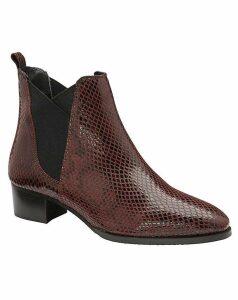Ravel Loburn Leather Ankle Boots