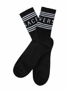 Versace Socks With Logo