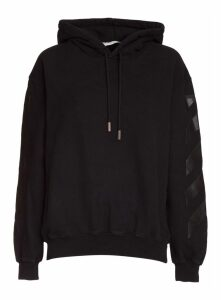 Off-white Hoodie With Print