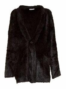 Balenciaga Cardigan In Black