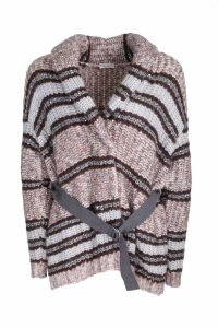 Brunello Cucinelli Mix Stripes cardigan