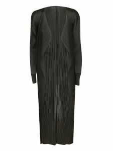 Pleats Please Issey Miyake Pleated Cardigan