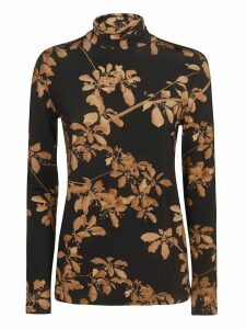 Dries Van Noten Floral Print Sweater