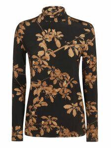 Dries Van Noten Floral Print Sweater
