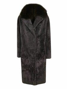 S.W.O.R.D 6.6.44 Montone Fox Neck Coat