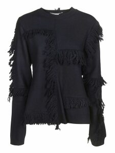 Stella McCartney Fringes Patchwork Jumper
