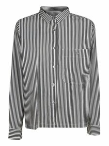 Closed Striped Shirt