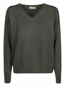 Closed V-neck Jumper