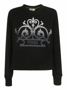 Fendi Logo Printed Sweatshirt