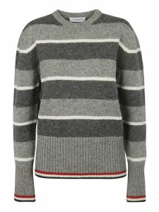 Thom Browne Wide Rep Stripe Pullover