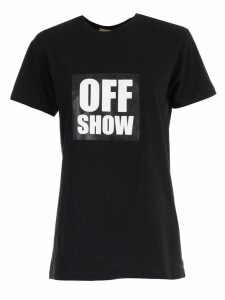 SEMICOUTURE T-shirt Federica Off Show