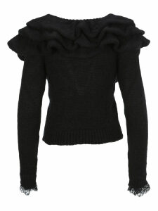 Philosophy Ruffled Neck Jumper