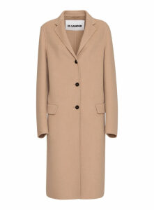 Jil Sander Cashmere Single-breasted Coat