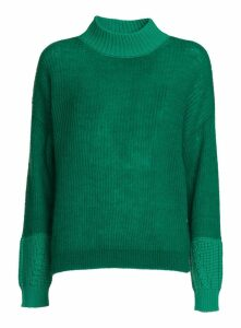 Essentiel Sweater With Contrasting Cuffs And Neck