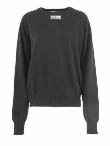 Maison Margiela Black Cashmere Cut-out Jumper