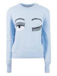 Chiara Ferragni Wink Knit Sweater