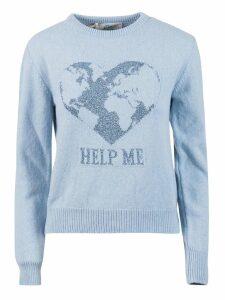 Alberta Ferretti Help Me Knit Sweater