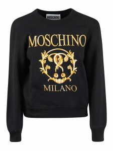 Moschino Milano Print Sweatshirt