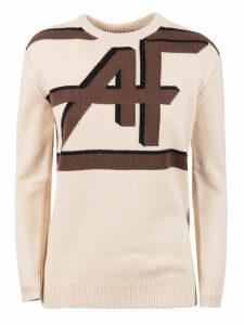 Alberta Ferretti Af Logo Knit Jumper