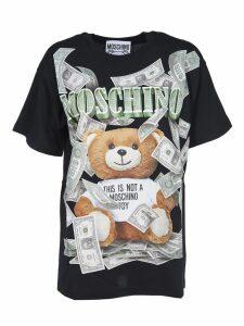 Moschino Teddy Bear Dollar T-shirt