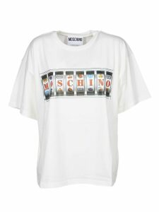Moschino Woman T-shirt With Logo Print