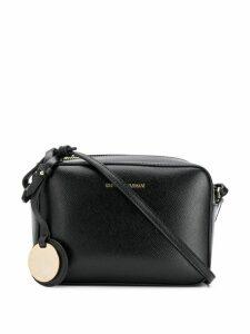Emporio Armani textured camera bag - Black