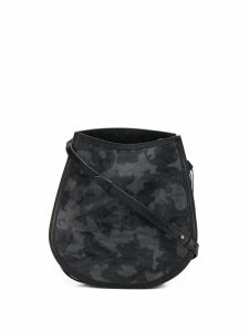 Mr & Mrs Italy camouflage shoulder bag - Black