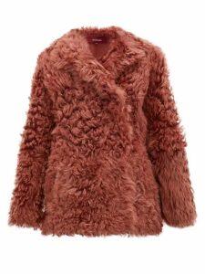 Sies Marjan - Pippa Shearling Jacket - Womens - Pink