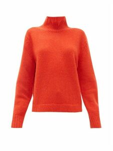 Acne Studios - Kastrid Wool-blend Sweater - Womens - Red