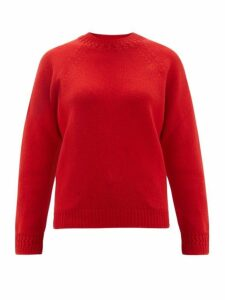 A.P.C. - Janet Wool-blend Sweater - Womens - Red