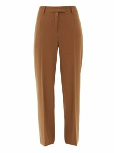 A.p.c. - Cece High-rise Twill Straight-leg Trousers - Womens - Camel