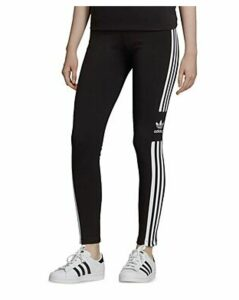 Adidas Trefoil Triple Stripe Jersey Leggings