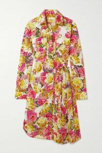 Valentino - Valentino Garavani Go Logo Embellished Leather Ankle Boots - Tan