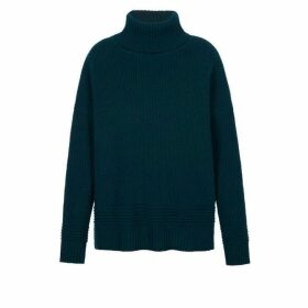 Markus Lupfer Holly Chunky Rib Poloneck Jumper