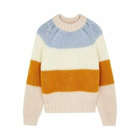Samsøe & Samsøe Simone Striped Knitted Jumper