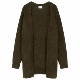 Acne Studios Dark Green Knitted Cardigan