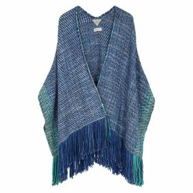 Wehve Antartica Knitted Merino Wool-blend Cardigan