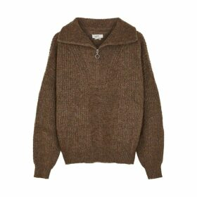 Isabel Marant Étoile Myclan Brown Mohair-blend Jumper