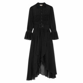 ByTiMo Black Point D'esprit Dress
