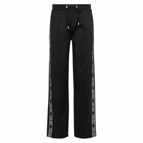 Kenzo Black Logo-embroidered Jersey Sweatpants