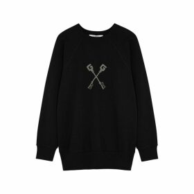 Givenchy Crystal-embellished Cotton Sweatshirt