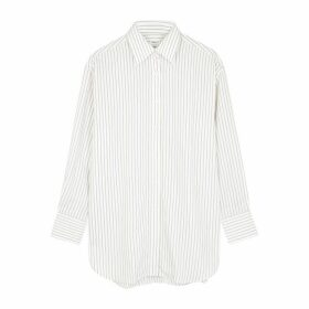 Filippa K Nina Striped Twill Shirt