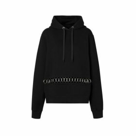 Burberry Ring-pierced Cotton Oversized Hoodie