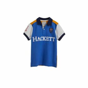 Hackett Archive Colour-block Cotton Short-sleeved Polo Shirt