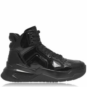 Balmain Lace High Top Trainers